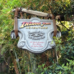 Photo taken at Indiana Jones Adventure by Paco S. on 7/8/2013