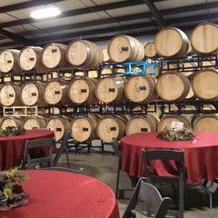 Photo taken at Cougar Vineyard & Winery by Joe on 1/12/2015
