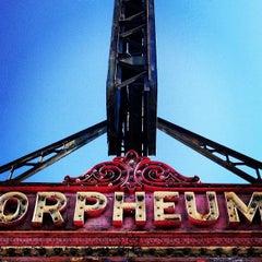 Photo taken at Orpheum Theatre by Derek G. on 7/20/2013