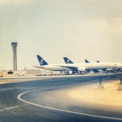 Photo taken at King Abdulaziz International Airport (JED) مطار الملك عبدالعزيز الدولي by Princess .. on 8/31/2013