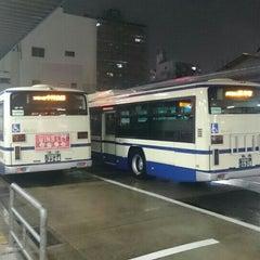 Photo taken at 中村公園バスターミナル by Matsu on 5/3/2016