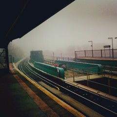 Photo taken at MTA Subway - Cypress Hills (J) by Kerri N. on 11/12/2012