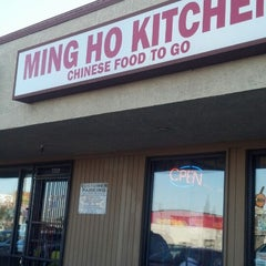 Photo taken at Ming Ho Kitchen by John R. on 5/29/2013