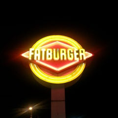 Photo taken at Fatburger by Roger W. on 4/3/2013