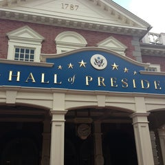Photo taken at The Hall Of Presidents by Mark L. on 6/16/2013