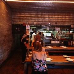 Photo taken at Momo Sushi Shack by John M. on 6/19/2013