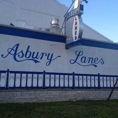 Photo taken at Asbury Lanes by Sandra E. on 6/16/2013