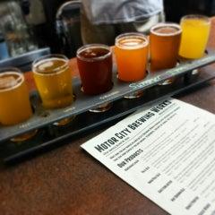 Photo taken at Motor City Brewing Works Inc by Caroline W. on 9/29/2014