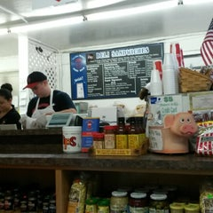 Photo taken at Los Gatos Meats Smokehouse by Dave G. on 9/17/2014