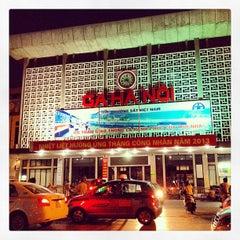 Photo taken at Ga Hà Nội (Hanoi Station) by satikki s. on 5/17/2013