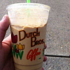 Photo taken at Dutch Bros. Coffee by Eric T. on 9/2/2013