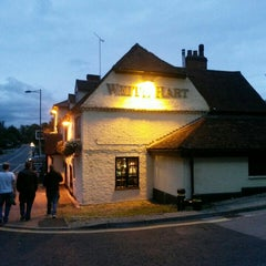Photo taken at The White Hart by Gemma T. on 9/3/2015