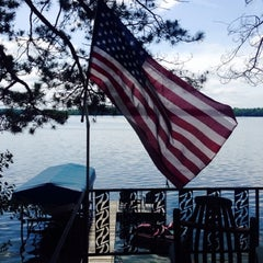 Photo taken at Pickerel lake by Dawn Marie on 6/22/2014