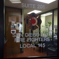 Photo taken at San Diego City Fire Fighters Local 145 by Lorraine E. on 8/11/2015