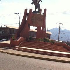 Photo taken at Cueramaro by Karla P. on 11/9/2013