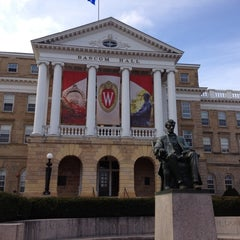 Photo taken at Bascom Hall by Jay J. on 11/26/2012