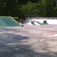 Photo taken at Youth Park Skate Park by No Longer Here U. on 10/26/2014