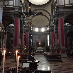 Photo taken at Chiesa di San Salvador by Eduardo N. on 2/9/2016