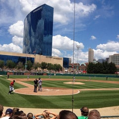 Photo taken at Victory Field by Darin B. on 7/14/2013