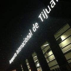 Photo taken at Aeropuerto Internacional de Tijuana (TIJ) by Meza on 5/22/2013