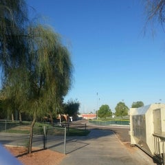 Photo taken at North Canyon High School by Lisa B. on 9/19/2012