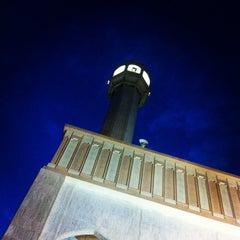 Photo taken at جامع أبي بكر الصديق by Mohsin A. on 10/29/2012