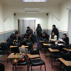Photo taken at Instituto de Estudios Bancarios Guillermo Subercaseaux by Jose A. on 7/1/2014