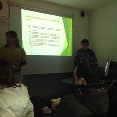 Photo taken at Instituto de Estudios Bancarios Guillermo Subercaseaux by Jose A. on 9/5/2013