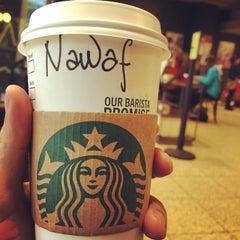 Photo taken at Starbucks by Nawaf A. on 3/6/2015
