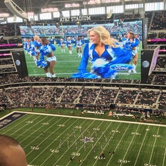 Photo taken at AT&T Stadium by Colby J. on 9/22/2013