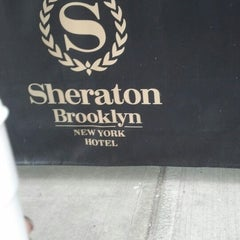 Photo taken at Sheraton Brooklyn New York Hotel by Ms. J on 3/2/2013