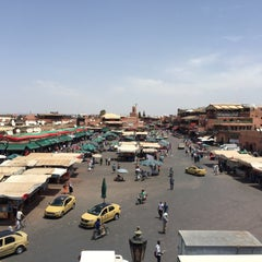 Photo taken at Marrakech by Sabrina A. on 7/30/2015
