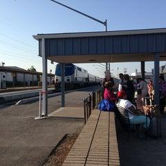Photo taken at Richmond Amtrak Station (RVR) by Karan P. on 5/29/2013
