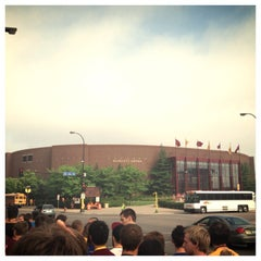 Photo taken at Mariucci Arena by Kris S. on 8/29/2013