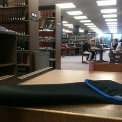 Photo taken at Herman B Wells Library by Eric S. on 10/7/2012