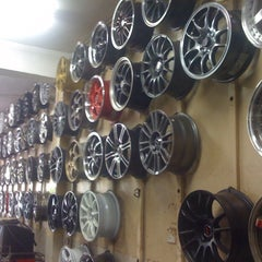 Photo taken at Goodwood Tyre Service by Jayson C. on 3/17/2013