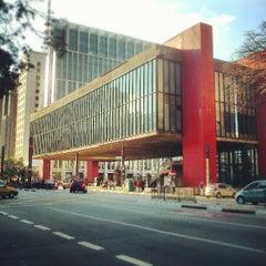 Photo taken at Museu de Arte de São Paulo (MASP) by Felipe X. on 6/1/2013