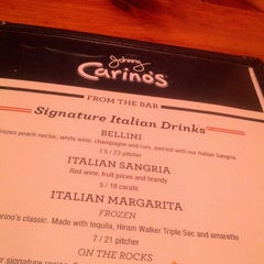 Photo taken at Carino's Italian Grill by Alan M. on 10/18/2013