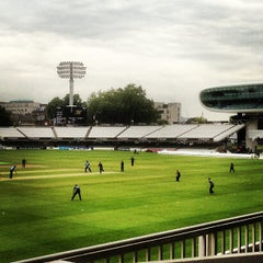 Photo taken at Lord's Cricket Ground (MCC) by Andrew W. on 6/18/2013