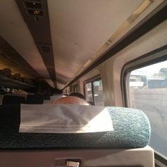 Photo taken at Massachusetts Border (Amtrak NEC) by Peter B. on 10/16/2012