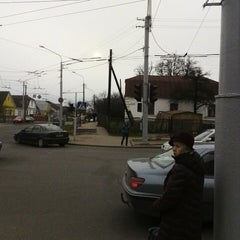 Photo taken at Остановка «Улица Кольцова» by Vladimir O. on 3/31/2014