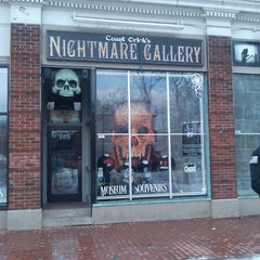 Photo taken at Count Orlock's Nightmare Gallery by caitlin s. on 2/20/2013