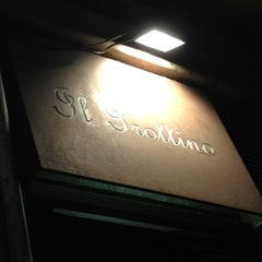 Photo taken at Il Grottino by Giovanni C. on 8/8/2013