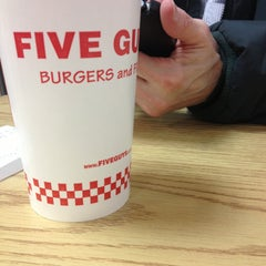 Photo taken at Five Guys by Sandy on 5/4/2013
