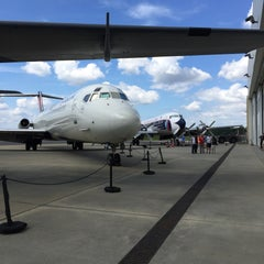 Photo taken at Carolinas Aviation Museum by Randa A. on 8/8/2015