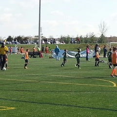 Photo taken at Maryland SoccerPlex by Ben O. on 4/13/2013