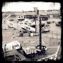 Photo taken at Edinburgh Airport (EDI) by Dirk S. on 10/28/2012