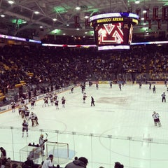 Photo taken at Mariucci Arena by Steve R. on 1/26/2013