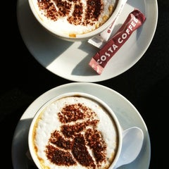 Photo taken at Costa Coffee by holydevil on 1/27/2013