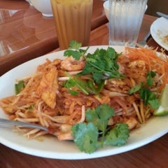 Photo taken at Thai Cafe by Kimberly K. on 8/1/2014